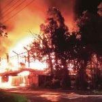 Pekerja Melecur Dalam Insiden Kebakaran Kilang Besi Jalan Chan Sow Lin