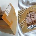 """""""Selalunya Kotak Macam Ni Aku Buang Je.."""" Pemuda Manfaatkan Kotak 'Parcel' Dengan Lukisan Yang Cantik"""