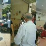 (Video) Tidak Imbas Suhu Dan MySejahtera Di Restoran, Najib Sedia Bayar Kompaun
