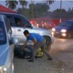 (Video) Polis Minta Penunggang Motosikal Yang Dilanggar Honda CRV Tampil Beri Keterangan