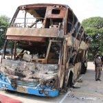 Lima Termasuk Dua Kanak-Kanak Rentung Dalam Nahas Kebakaran Bas Pelancong Dua Tingkat