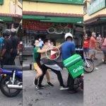 (Video) Bergaduh Kerana Isu Pembayaran, Dua Lelaki Ditahan Polis