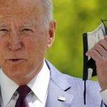 """""""Tidak Perlu Pakai Penutup Muka Jika Sudah Divaksin"""", Umum Joe Biden"""