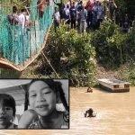 Mayat Dua Beradik Yang Terjatuh ke Dalam Sungai Sudah Ditemui