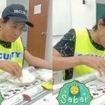 Tular Pengawal Keselamatan Makan Nasi Dengan 'Lauk' Garam