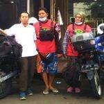 Suami Isteri Tunggang Motosikal Ke Mekah Mengerjakan Umrah