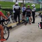 34 Individu Berbasikal Disaman, Langgar Peraturan Jalan Raya Di Singapura