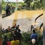 Dua Beradik Dikhuatiri Lemas Dalam Sungai Keratong