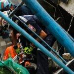 Bangunan Runtuh Akibat Kebakaran Mengorbankan Lima Orang Mangsa Termasuk Petugas Penyelamat