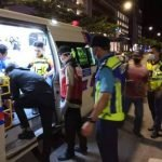 Anggota Polis Patah Pergelangan Kaki Akibat Dirempuh Mat Rempit