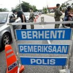 Polis Tambah Sekatan Jalan Raya Di Laluan Tikus