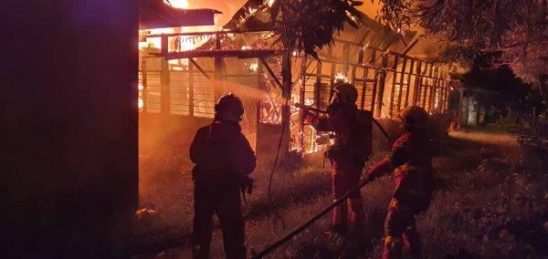 Rumah Terbakar, Semua Persiapan Aidilfitri Musnah