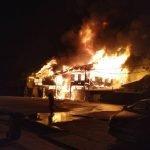 Tujuh Unit Rumah Kedai Dua Tingkat Hangus Terbakar