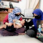 Anak Usia 2 Tahun Menangis Panggil Ibu Saat Wanita Itu Dikebumikan.