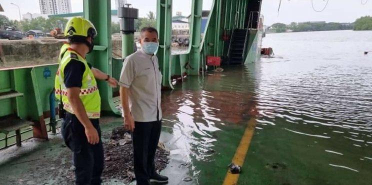 Feri Kemegahan Pulau Pinang Kini Uzur Dan Terbiar