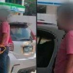 Lelaki Pakai Gelang 'Pink' Ketika Di Stesen Minyak Dikenal Pasti