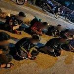 38 Individu Ditahan Berkumpul Dan Berlumba Haram