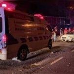 Pemandu Maut, Rakan Parah Kereta Rempuh Penghadang Jalan