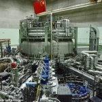 Reaktor Peleburan Nukleur Buatan China Berjaya Catat Suhu Tertinggi Dunia
