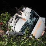 Ambulans Jatuh Tebing Ketika Dalam Perjalanan Mengambil Pesakit