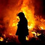 Rumah Musnah Dalam Kebakaran Akibat Dipanah Petir