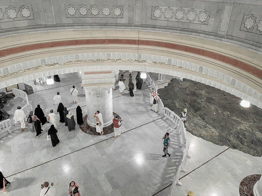 """""""Sedikit Tatap Untuk Ubat Kerinduan..."""" Terpilih Untuk Mengerjakan Haji Pada Tahun Ini, Pemuda Kongsi Gambar & Video Di Tanah Suci"""