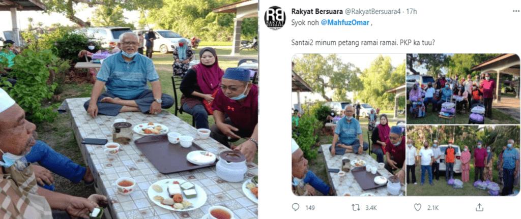 Ahli Parlimen Kedah Langgar SOP Kini Dalam Siasatan