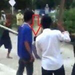 Seorang Lelaki Mahu Sebar Covid-19 Dipukul Penduduk Kampung.