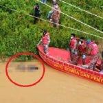 Mayat Tentera Lemas Di Sungai Pahang Ditemui.