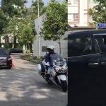 (Video) Terkini Kenderaan Rasmi Bawa PM Muhyiddin Keluar Dari Kawasan Kediamannya