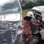 Seorang Pemandu Ambulans KKM Maut DLm Kemalangan.