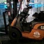 Lelaki Guna 'Forklift' Pecah Masuk Pasar Raya
