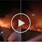 (Video) Lebih 40 Orang Maut Dalam Kebakaran Penjara Di Indonesia
