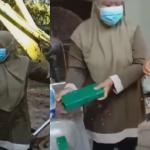 (Video) Anak Tersilap Buang Kotak Emas Bernilai 70k, Wanita Selongkar Lori Sampah