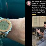 Menteri Agama Dituduh Pakai Jam Tangan Mewah Jenama Rolex, Ini Penjelasan Beliau Yang Buat Ramai Tergamam