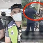 Polis Tengah Buat Rondaan Tiba2 Tahan Warga Emas, Apa Terjadi Buat Ramai Respek