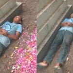 Pelik Lelaki Tidur Sebelah Kubur, Ramai Sedih Bila Tahu Kisah Sebenar.