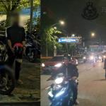 2 Penunggang Motosikal Buat Aksi 'Superman' & 'Roket' Ditahan Polis