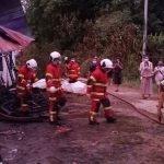 Suami Rentung Dan Isteri Melecur Dalam Kebakaran Rumah.