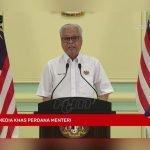 PM Umum Aktiviti Rentas Negeri Dibenarkan Bermula Esok